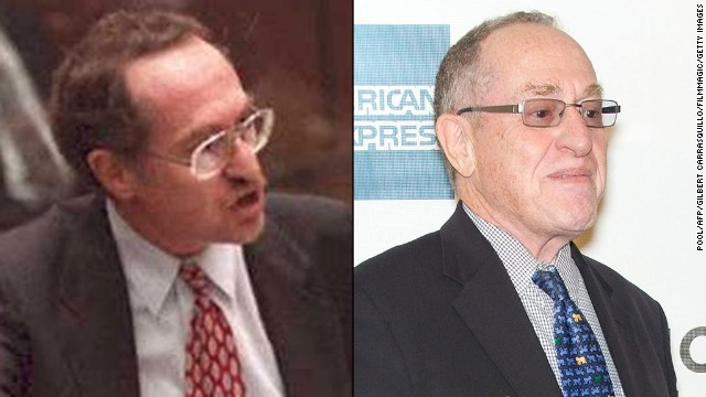 "<strong>Alan Dershowitz: </strong>Dershowitz played a major role in Simpson's defense team. He retired in 2014 after 50 years of teaching at Harvard University. Dershowitz has written 30 books. His legal autobiography, ""Taking The Stand: My Life in the Law,"" came out in October 2013. <!-- --> </br>"