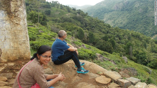 Narendran and Sharma planned to build their dream house in the Nilgiri Hills in India.