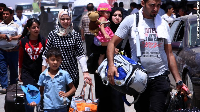 500.000 civiles iraquíes escapan de los combates en Iraq