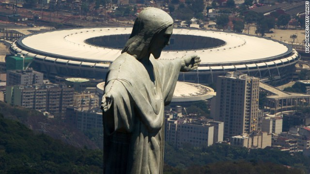 Chile play Spain in the Maracana stadium on Wednesday in the World Cup. Back in 1989, the stadium was the scene of one of the World Cup's most controversial games...