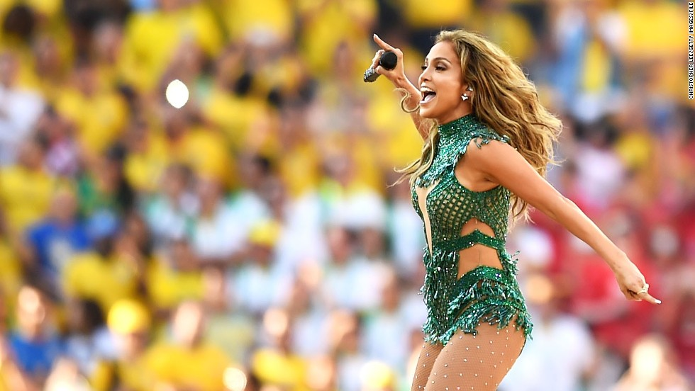 "Actress-singer Jennifer Lopez turns 45 on July 24, so let's look back at some other big events for ""Jenny from the Block,"" including her performance here in June at the 2014 World Cup in Brazil."