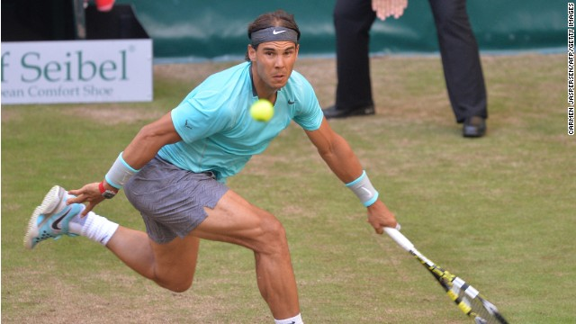 Rafael Nadal was beaten in straight sets by Germany's world No. 85 Dustin Brown at Halle.