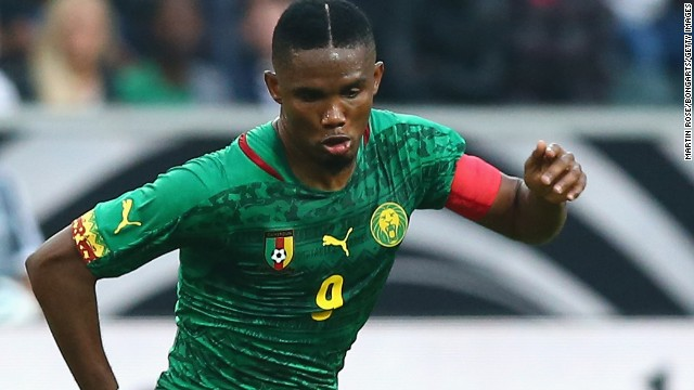 Cameroon's star striker Samuel Eto'o is one of several top African footballers seeking to make amends for past World Cup disappointments at Brazil 2014.