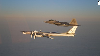 NATO jets scramble more for Russians