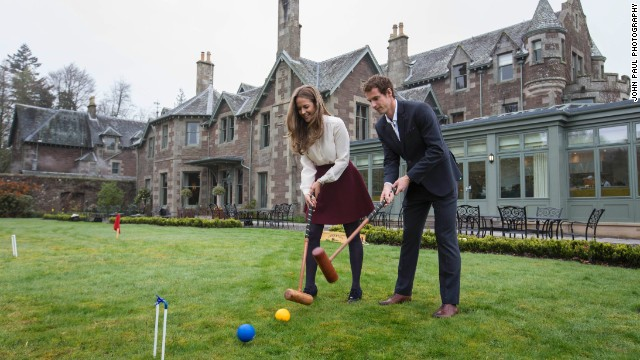 You can take a walk around the grounds of Cromlix and even treat yourself to a game or two of croquet.