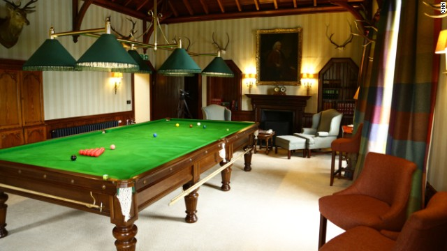 Murray has proved himself somewhat of a talented snooker player. You can have a go on his table at the hotel.