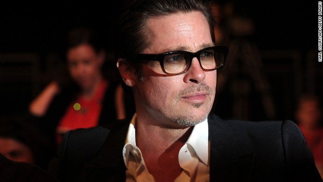 """<strong>Brad Pitt, father of six, on organization: </strong>""""Listen, I admit there's times like, 'We gotta get up. Get up! Here's your shoes. Here's your shoes! Drink this Coke. Drink this Coca-Cola. Drink it all. Right now! Drink it! Drink it! Drink it!' Just so we could get 'em up and going."""""""