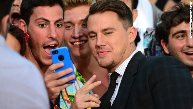 """<strong>Channing Tatum, father of one, on cleaning duty:</strong> """"I'm solid at changing a diaper ... If a guy isn't good at changing a diaper, I don't know what he's there for, really, 'cause they're not there for the first seven months for any other reason than to do that."""""""