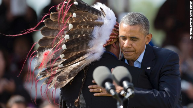 Obama increases support to American Indians