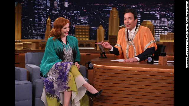 "Caftans are having a moment. Christina Hendricks, sporting one on ""The Tonight Show Starring Jimmy Fallon"" in April, declared the long, loose, robe-like garments her ""go-to"" items. In May, New York magazine encouraged readers ironically (or not?) to ""<a href='http://nymag.com/thecut/2014/05/how-to-get-your-body-caftan-ready-for-summer.html' target='_blank'>get your body caftan-ready for summer</a>."" Take a look back at these well-known Westerners who embraced the Eastern-inspired look."