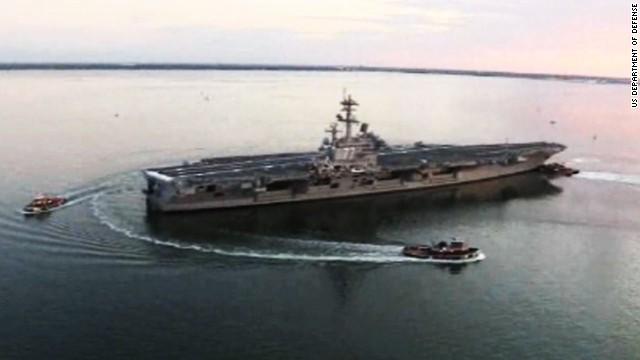 Estados Unidos envía un portaaviones al Golfo Pérsico