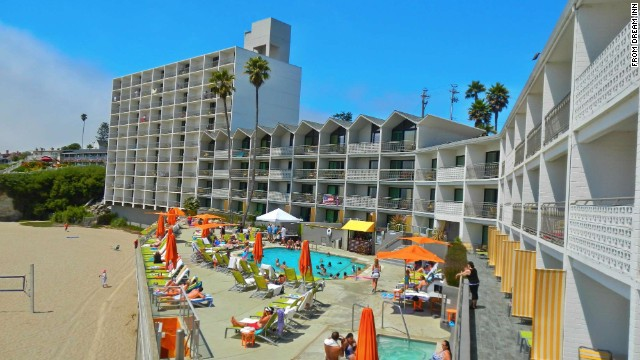 Kitschy summertime fun is on the menu at Dream Inn along the Santa Cruz Boardwalk.