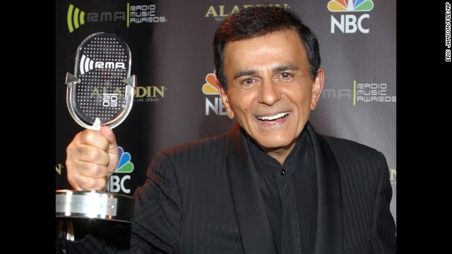 Radio personality <a href='http://www.cnn.com/2014/06/15/showbiz/casey-kasem-obit/'>Casey Kasem</a> died June 15. He was 82 and had been hospitalized in Washington state for two weeks.