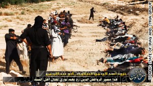 ISIS has posted photos online showing some of its executions.