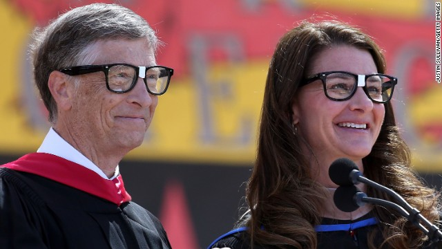 "The founders and co-chairs of the Bill & Melinda Gates Foundation gave the commencement address at Stanford University on June 15. ""Even in dire situations, optimism can fuel innovation and lead to new tools to eliminate suffering. But if you never really see the people who are suffering, your optimism can't help them. You will never change their world,"" Bill Gates told students.<!-- --> </br>"