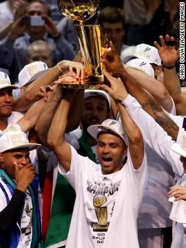 Los Spurs se proclaman campeones de la NBA 2014