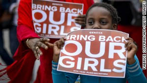 Nigeria's kidnapped girls not forgotten