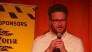 Seth Rogen turns hilarity into charity
