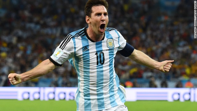 Lionel Messi, who scored in Argentina's opening victory over Bosnia and Herzegovina, will be aiming for more success against Iran at the 2014 World Cup.