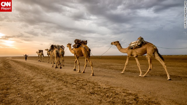 Ng Ngok Swee took this photo this year during a trip to the Danakil Depression in Northern Ethiopia. The landscape is one of harshest on earth, with wastelands of salt and sweltering temperatures that remain well more than 100 degrees Fahrenheit.