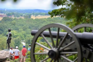 9. Parque Nacional Militar de Gettysburg (Pensilvania)