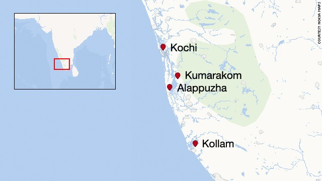 The Indian state of Kerala