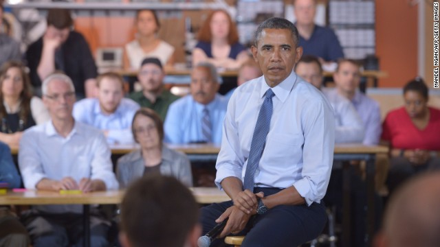At tech event, Obama praises U.S. forces for capturing Benghazi suspect