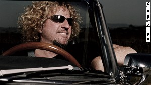 Sammy Hagar: Let\'s hope that\'s not a cop in the rear view mirror.