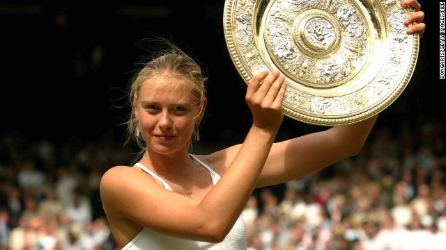 maria sharapova baby faced teen who conquered wimbledon. Black Bedroom Furniture Sets. Home Design Ideas