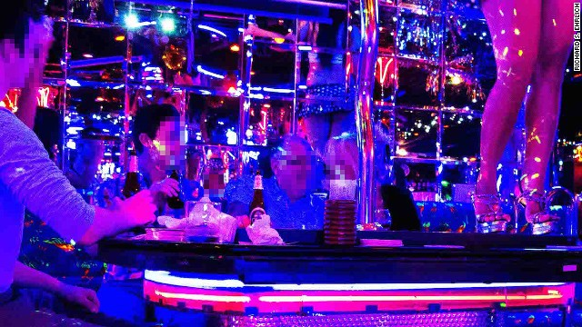 """The Bangkok Hangover Tour celebrates the film """"Hangover Part II."""" The tour begins in the same bar on Soi Cowboy (pictured) where some of the movie's scenes were filmed."""
