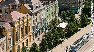 Debrecen\'s architectural mix is a draw for visitors.
