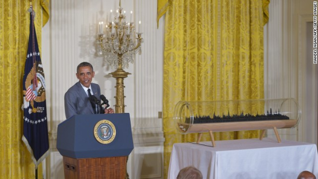 Obama becomes Seller in Chief for new inventions