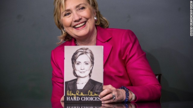 Clinton's memoir tops non-fiction hardcover list, fourth overall