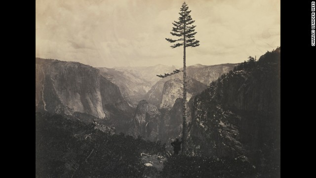 In the midst of the Civil War, President Abraham Lincoln signed the <a href='http://www.nps.gov/featurecontent/yose/anniversary/' target='_blank'>Yosemite Grant Act</a> on June 30, 1864, paving the way for the national park system. American photographer Charles Leander Weed captured this view of Yosemite Valley that same year.