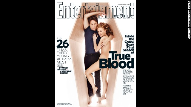 "The final season of ""True Blood"" premiered in June, and what better way to raise awareness than with a sexy magazine cover? Of course, it wasn't the first time the ""True Blood"" stars had stripped down."