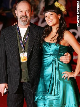 "The ""World In Motion"" rap was written by English comedian, actor and football fan Keith Allen (left). His daughter is popstar Lily Allen (right) while his son Alfie stars in hit TV series ""Game of Thrones."""