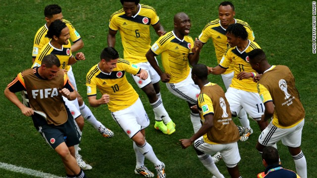 While Brazil and Argentina have made hard work of their group games, Colombia has looked dominant in the wins against Greece and Ivory Coast. Its perfo