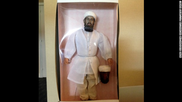In 2006, the CIA with the help of a toymaker in China developed three prototypes of an Osama bin Laden action figure doll.