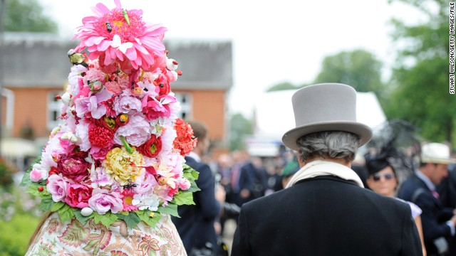 """Horse racing's roots as the 'sport of kings' obviously suggest a pleasure pastime for the elite,"" Willie Walters, the fashion course director at London's Central Saint Martins college of art and design, told CNN."