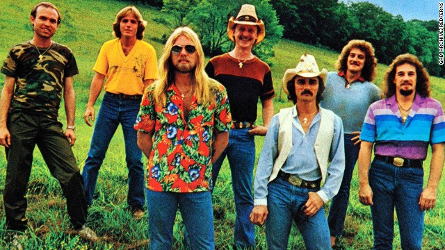 "Out standing in their field, the Allman Brothers Band's ""Ramblin' Man"" includes a line about being born in the back seat of Greyhound Bus and one of the most memorable guitar solos in rock history."