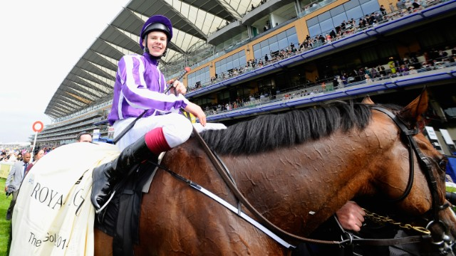 ... the Gold Cup. This year's race was won by Leading Light, ridden by jockey Joseph O'Brien.