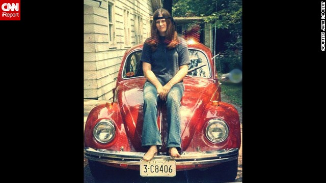 At 19, <a href='http://ireport.cnn.com/docs/DOC-1141211'>Janie Lambert</a> had her heart set on a 1960s Volkswagen Beetle. She was ecstatic to find this 1968 candy apple red number in a Knoxville, Tennessee, used car lot, partly because it went perfectly with the red, white and blue peace decal that she had been saving for her first car.