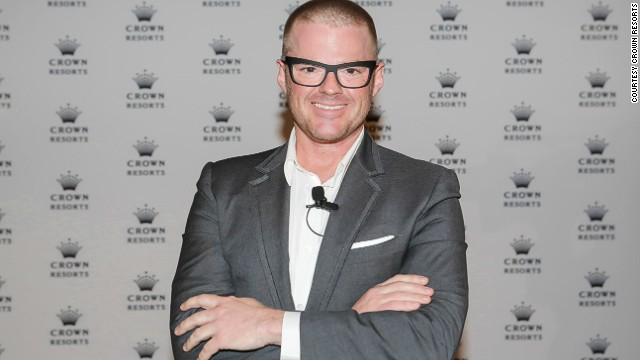 Chef Heston Blumenthal, known for molecular gastronomy, will be transporting the concepts behind his three Michelin-starred Fat Duck restaurant from a village in England to a casino in Melbourne for six months in 2015.