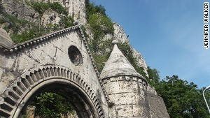Gellert Hill\'s church cave.