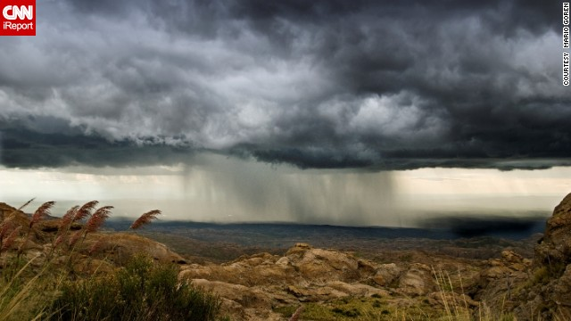 Summer in the Southern Hemisphere lasts from December to March. While on vacation in February 2008, <a href='http://ireport.cnn.com/docs/DOC-1145263'>Mario Goren</a> shot this storm over the Traslasierra Valley in Cordoba, Argentina.