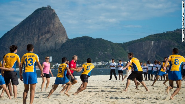 The inclusion of rugby sevens in the 2016 Olympics has encouraged the game's growth in the host country. Over the past five years 10,000 Brazilian players have taken up the sport.