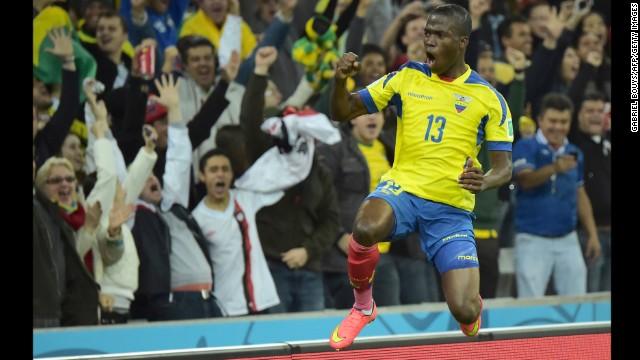 Ecuador forward Enner