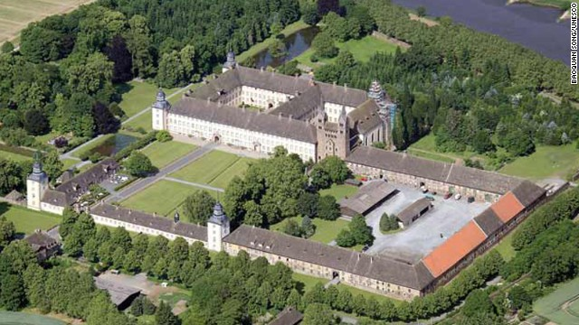 The Westwork and Civitas Corvey together are Germany's newest World Heritage Site. Built between 822 and 885 A.D., Westwork is the last remaining structure from the important Carolingian architectural period.