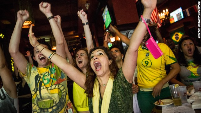 FIFA said nearly 43 million people tuned into Brazilian network TV Globo's coverage of the opening game of the football World Cup, making it the most viewed sporting event of the year.