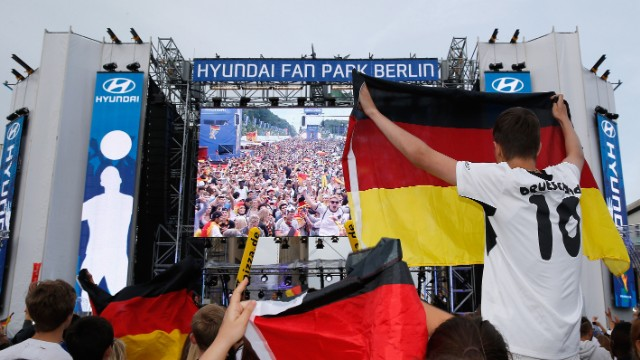 World football's governing body said more than 26 million Germans enjoyed watching their team thrash Portugal on German network ARD's coverage of the Group G game.